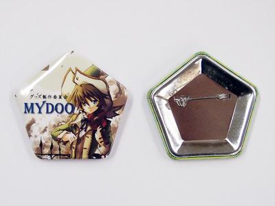 缶バッジ-五角形 サンプル2