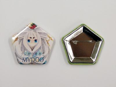 缶バッジ-五角形 サンプル3
