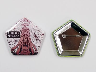 缶バッジ-五角形 サンプル4